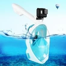 PULUZ 240mm Fold buis watersport apparatuur volledig droog Snorkel duikbril voor  GoPro HERO 7 / 6 / 5 / 5 session / 4 session / 4 / 3+/ 3 / 2 / 1    Xiaoyi en andere actie camera's  S/M Size(Green)