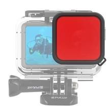 PULUZ Housing Diving Color lens filter voor DJI osmo actie (rood)