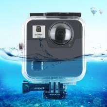 PULUZ 45 onderwater waterdichte schokbestendige behuizing duiken geval voor GoPro Fusion  met gesp Basic Mount & schroef