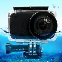 PULUZ 45 onderwater acryl plexiglas waterdichte behuizing duiken geval voor Xiaomi Mariam kleine camera  met gesp Basic Mount & schroef