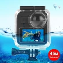 PULUZ 45m Onderwater waterdichte behuizing duikkoffer voor GoPro MAX  met Buckle Basic Mount & Screw