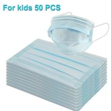 30 PCS voor kinderen wegwerp 3-gelaagde Bescherming Ademend Earloop Antiviraal Gezichtsmasker