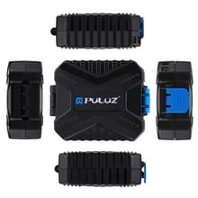 PULUZ 11-in-1 Memory Card Case for 3SIM + 2XQD + 2CF + 2TF + 2SD kaart