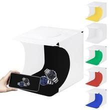 [UAE voorraad] PULUZ 20cm vouwen draagbare 550LM licht foto verlichting studio schieten tent Box kit met 6 kleuren achtergronden (zwart  wit  oranje  rood  groen  blauw)  unfold grootte: 24cm x 23cm x 22cm