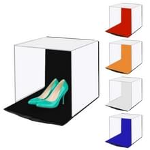 [UAE voorraad] PULUZ 40cm foto softbox draagbare vouwen studio schieten tent Box kits met 5 kleuren achtergronden (rood  oranje  blauw  wit  zwart)  grootte: 40cm x 40cm x 40cm