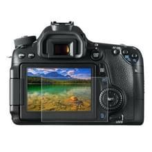 PULUZ 2.5D 9H Gehard glas Scherm bescherming Protector met gebogen rand voor Canon 650D / 70D / 700D / 750D / 760D / 80D Camera