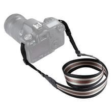 PULUZ streep stijl serie schouder camerariem van de riem van de hals voor SLR / DSLR Cameras(Black)