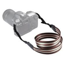 PULUZ streep stijl serie schouder camerariem van de riem van de hals voor SLR / DSLR Cameras(Coffee)