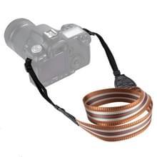 PULUZ streep stijl serie schouder camerariem van de riem van de hals voor SLR / DSLR Cameras(Brown)
