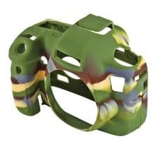 PULUZ siliconen beschermhoes bij Canon EOS 6D(Camouflage)