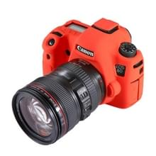 PULUZ soft silicone beschermhoes voor Canon EOS 6D (rood)