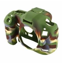 PULUZ siliconen beschermhoes Case voor Canon EOS 5 D Mark III / 5D3(Camouflage)