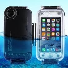 PULUZ 40m / 130ft waterdichte duiken huisvesting Foto Video nemen dekken onderwaterbehuizing voor iPhone 8 Plus & 7 Plus(Black)