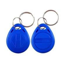 Water Resistant RFID nabijheid identiteitskaart Token Keyfobs sleutelhanger voor toegang Control(Blue)