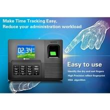 A9-TB 2 8 inch kleuren TFT scherm Vingerafdruk & RFID tijd opkomst  USB-communicatie Office Time Attendance klok