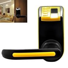 LS-9 ADEL DIY vingerafdruk deurslot met wachtwoord en de mechanische sleutel  ondersteunen maximaal 120 vingerafdrukken Memory(Yellow)