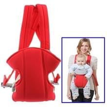 Multiposition veiligheid Baby Carrier rugzak (rood)