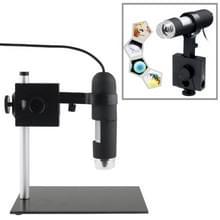1.3 Mega Pixels 1000 X USB digitale microscoop met 8 LED-verlichting / houder