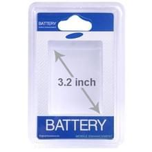 Blister verpakking voor originele Samsung batterij  toepassen op batterijen kleiner dan 3.2 inch (originele versie)