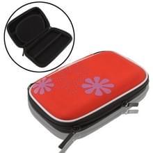 Universele tas voor digitale camera  GPS  NDS  NDS Lite  grootte: 135x80x25mm (rood)