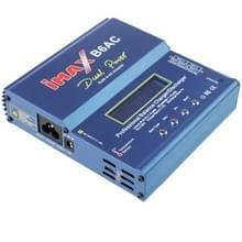 iMAX B6AC 2 6 inch LCD RC LiPo batterij balans lader (100-240V/EU plug) (blauw)