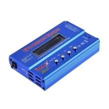 iMax B6 digitale LCD RC Lipo NiMh batterij evenwicht Charger(Blue)