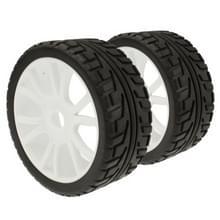 1:8 rubber spons Racing RC auto's 1/8 Buggy banden wiel voor RC Model ingesteld  4 stk in één verpakking  de prijs is voor 4 stuks