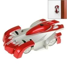Superieure Cool infrarood Control speelgoed auto afstandsbediening RC Wall Climber auto klimmen Stunt Car(Red)