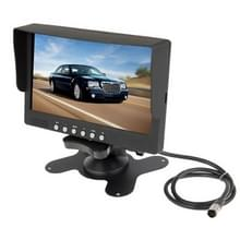 7 inch LCD Color Monitor / Two Way Video Input  One Way Audio Input