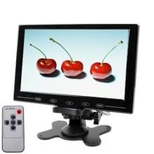 9 0 inch ultradunne aanraak knop auto monitor met afstandsbediening (zwart)