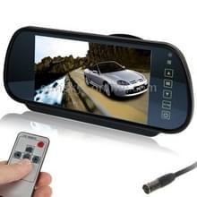 7 inch achteruitkijk TFT-LCD-kleuren auto monitor  ondersteuning omgekeerde automatische scherm functie