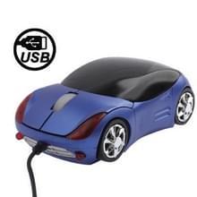 Optische USB-Mouse(blauw) van de 800DPI auto-stijl