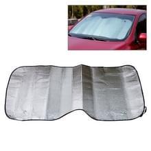 Opvouwbare auto terug voorruit zonnebrandcrème folie  grootte: 125 x 60 cm