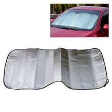 Opvouwbare auto voorkant voorruit zonnebrandcrème folie  formaat: 140 x 70 cm