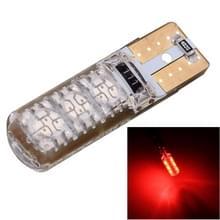 10 stuks T10 3W 300LM silicone 6 LED SMD 5050 auto klaring verlichting lamp  DC 12V