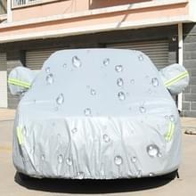 PEVA anti-Dust waterdichte Sunproof sedan auto cover met waarschuwings stroken  geschikt voor Auto's tot 5 1 m (199 inch) in lengte