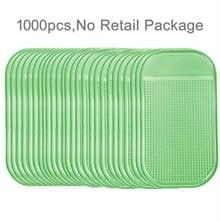 1000 PCS auto anti-slip mat Super Sticky pad voor telefoon/GPS/MP4/MP3 (LightGreen)