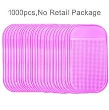 1000 PCS auto anti-slip mat Super Sticky pad voor telefoon/GPS/MP4/MP3
