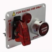 Galvaniseren flip-up start ontstekings schakelaar paneel en accessoires voor Racing sport (DC 12V)
