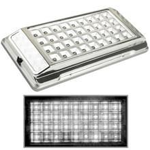 Wit interieur 36 LED-Daklicht voor voertuig (DC 12V) (zilver)