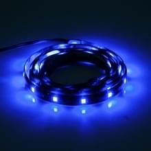 5 stuks 90cm 45 LED waterdichte flexibele auto strip licht  DC 12V (blauw licht)