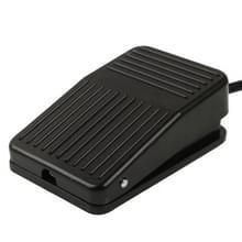 TFS-01 AC  250 v 10A antislip kunststof Case voet pedaal schakelaar  kabellengte: 1m(Black)