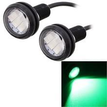 2 stk MZ 22.5mm 1 5 150LM groen licht 3 LED SMD 5630 Spotlight Eagle Eye licht overdag Running Light voor voertuigen