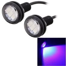 2 stk 22.5mm 1 5 150LM blauw licht 3 LED SMD 5630 Spotlight Eagle Eye licht overdag Running Light voor voertuigen