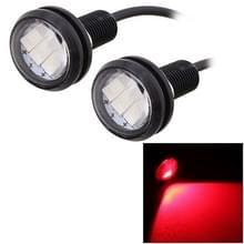 2 stk MZ 22.5mm 1 5 150LM rood licht 3 LED SMD 5630 Spotlight Eagle Eye licht overdag Running Light voor voertuigen