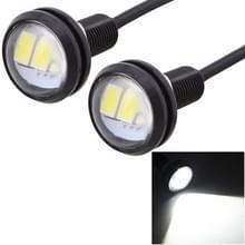 2 stk MZ 22.5mm 1 5 150LM wit licht 3 LED SMD 5630 Spotlight Eagle Eye licht overdag Running Light voor voertuigen