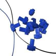 100 stuks Kabel Clip  Adapt aan lijn Diameter: 0 8-2.0 mm (blauw)