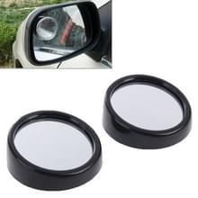 2 stuks 3R11 auto achteruitkijkspiegel groothoek spiegel zijspiegel  360 graden rotatie verstelbaar