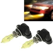 2 x 9005 HOD halogeen lampen 12V 100W 2400 LM 3500K geel licht koplampen