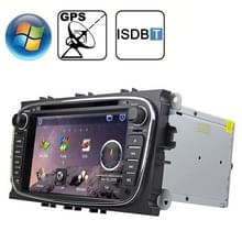 Rungrace 7.0 inch Windows CE 6.0 TFT Screen In-Dash Car DVD Player voor Ford Mondeo met Bluetooth / GPS / RDS / ISDB-T